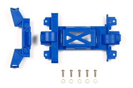 타미야,95392,TAMIYA, Rein Gear Cover MS Blue M4S